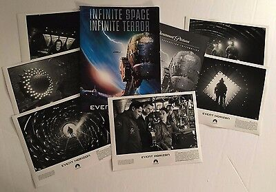 Event Horizon - Press Kit - Laurence Fishburne! 6 photos!!