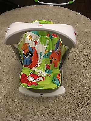 Fisher-Price Rainforest Take Along Swing and Seat Baby Chair
