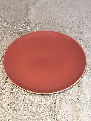 Poole Red Indian & Magnolia 8 Inch Side Plate