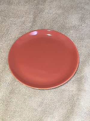 Poole Red Indian & Magnolia 6 Inch Side Plate