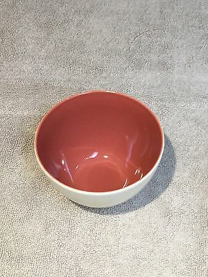 Poole Red Indian & Magnolia Bowl