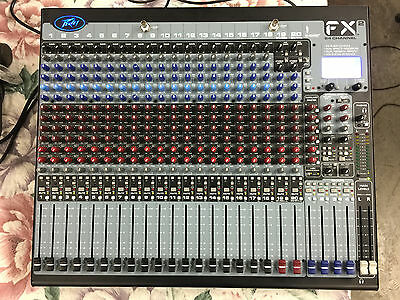 Peavey FX 2 24 Channel Mixing Board