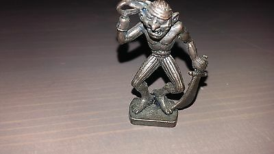 Vintage Ferrero Kinder Metal Figure Pirate 8/8