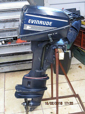 outboard motor evinrude 4 hp twin cylinder with stand long shaft fresh water