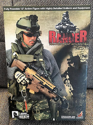 HOT TOYS US Army Ranger 75th Regiment