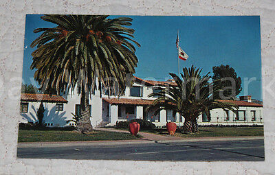 SAN CLEMENTE CALIFORNIA CA Community Clubhouse Vintage Postcard