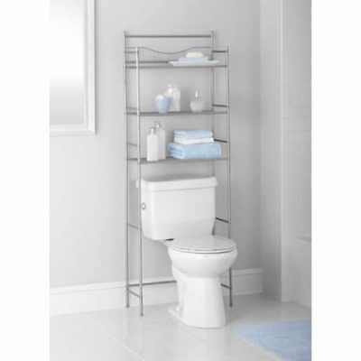 Over Toilet Bathroom Storage Organizer Cabinet Space Saver Towel Rack 3  Shelf. 3 Shelf Over Toilet Bathroom Storage Organizer Cabinet Space Saver
