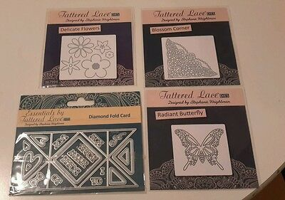4 Tattered Lace dies