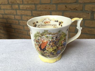 Brambly Hedge 1 x gr. Kaffeebecher Lord Woodmouse  Royal Doulton England