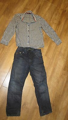 Boys jeans and shirt outfit 8 years NEXT, Autograph