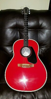 "RARE-70's USA MINTY COND. RARE RED OVATION ""APPLAUSE""-ALUM. NECK~ BIN 349 OBO"