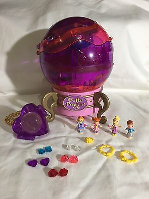 polly pocket 1996 Jewel Magic Crystal Ball  100% Complete  RARE