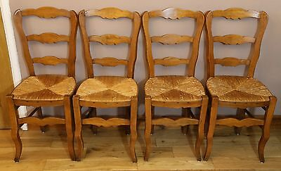 Set of Four French Louis Style Kitchen / Dining Chairs