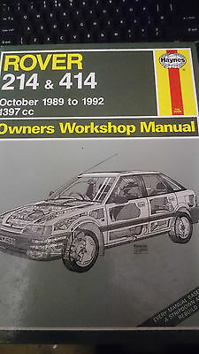 Rover 214 And 414 Workshop Manual