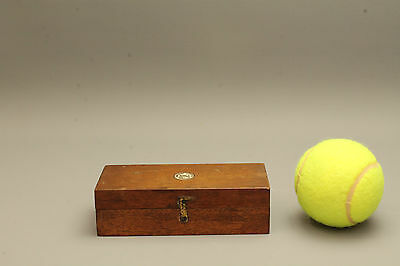Antique Set of Scale Weights in Original Wooden Case