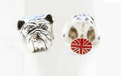 NEW Genuine Stephen Webster Bulldog Cufflinks - Red Union Jack Backs RRP £250