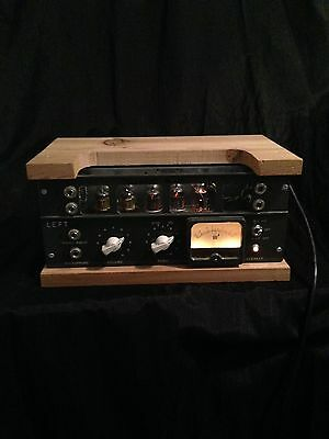 Vintage Stereo Tube Mic Preamp And Ultimate Direct Bass Recording
