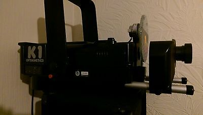 Optikinetics K1 Projector Black and accessories.