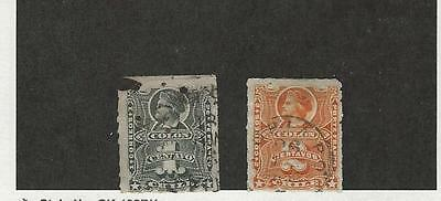 Chile, Postage Stamp, #20-21 Used, 1877