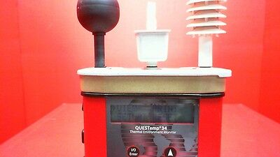 Quest Technologies/3M Questemp 34 Thermal Environment Monitor