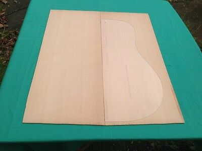 Luthier Tonewood Sitka Spruce top