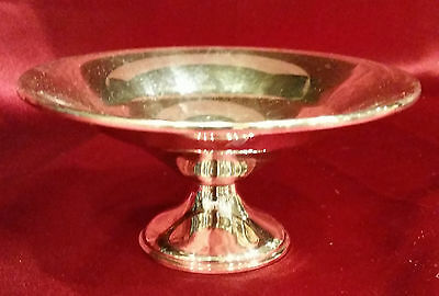 Beautiful REED & BARTON STERLING SILVER Weighted Compote Cand Dish 3.8 oz #534