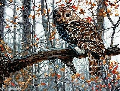 """Dimensions Counted Cross Stitch Kit 14"""" x 11"""" ~ WISE OWL #70-35311 Sale"""