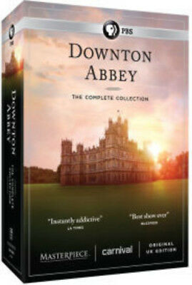 Downton Abbey: The Complete Collection (Masterpiece) [New DVD] Boxed Set
