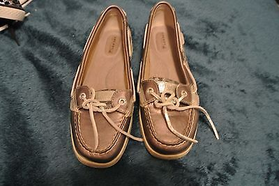 SPERRY TOP-SIDER Shoes size 8M LEOPARD