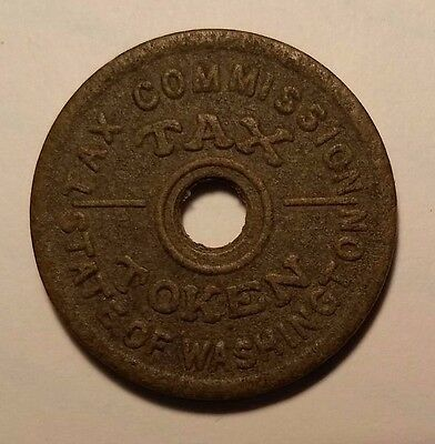 Washington State Tax Token 14¢ or Less, Laws of 1941