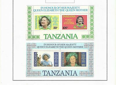 Tanzania 1985  - Queen Mother 85th Anniversary