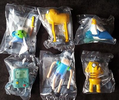 McDonalds Happy Meal Adventure Time 2015 Series ** Full Set of 6 **