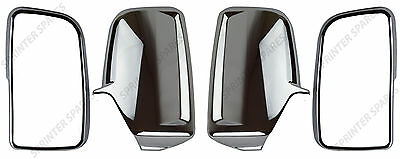 Mercedes Sprinter Chrome Wing Mirror Cover Set Right Left O/S N/S 2006 On