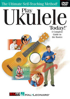 Learn To Play Dvd Complete Guide To The Basics Play Ukulele Today Dvd