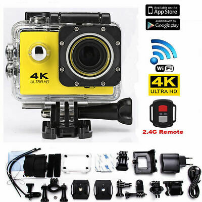 Action Cam Sports Camera 4K Ultra HD Wifi Video Camcorder Mini DVR Waterproof