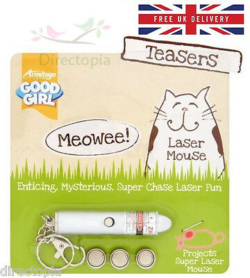 Good Fille Souris Laser Chat Chaton Teasers Toy Projects Jeu Plaisir Jouets