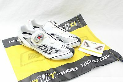 Diamant DMT EU41 Prisma Carbon Speedplay White Road Cycling Shoes, NOS, FREE S&H