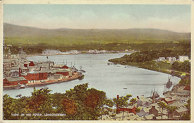 View On The Foyle, LONDONDERRY, County Londonderry, Ulster