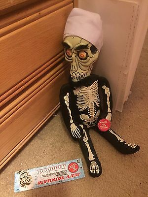 Jeff Dunham Talking Achmed Doll with Tags 18'' Collectible Neca
