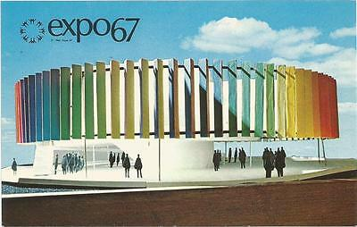 Chemical Group Pavilion Expo 67 Montreal Quebec Canada Official Postcard