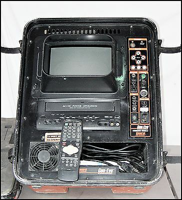 General Wire Company Gen-Eye VHS Command Module w/Monitor For Sewer Camera