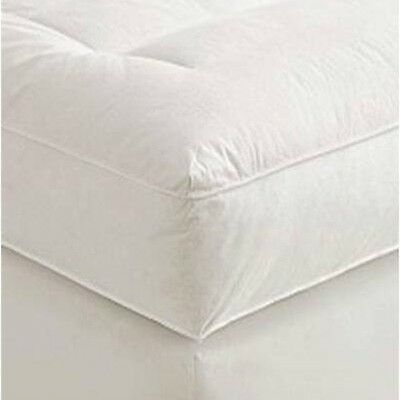 "5"" Twin Goose Down Mattress Topper Featherbed / Feather Bed Baffled"