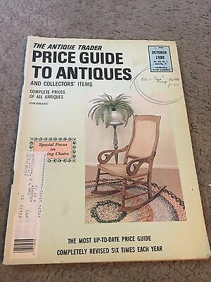 The Antique Trader Price Guide To Antiques Fall 1988 Magazine Vol. XIX No. 5
