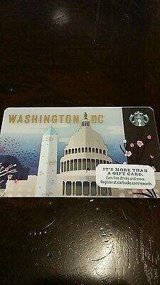 STARBUCKS NEW release Washington DC gift card  IN HAND 24 hour SALE