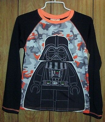 Star Wars Darth Vader Lego Long Sleeve Top Boys Size 10-12