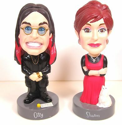 Ozzy and Sharon Bobble Head Figures