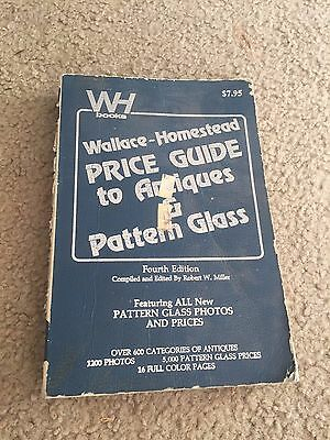 Wallace-Homestead Price Guide To Antiques & Pattern Glass paperback book 1977