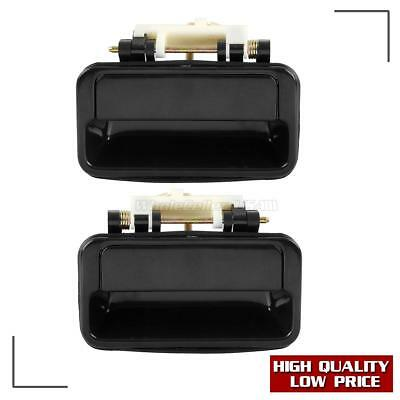 Pair For 1989-1994 GEO METRO Exterior Outer Rear Left Right Door Handle