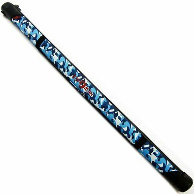 RISEWAY Straight Hard Rod Case 130cm Blue Camoflage with Strap UBA-005 Japan