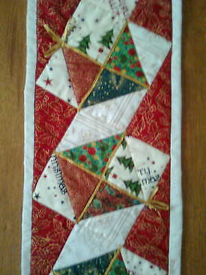 Table / Bed Runner PATTERN patchwork quilting handmade Christmas